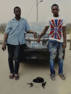 Suspected Armed Robbers Arrested, Stolen Vehicle Recovered