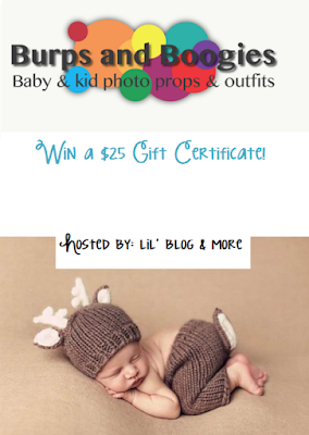 Burps and Boogies $25 Gift Certificate #Giveaway Ends 7/31