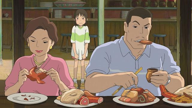 Animador de A Viagem de Chihiro entrega segredo sobre a comida do filme