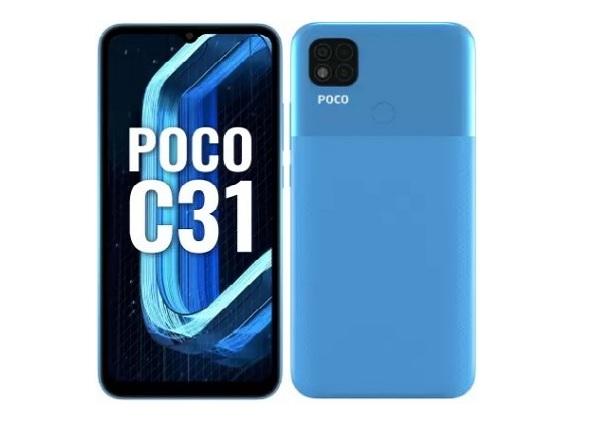هاتف بوكو Poco C31 يصل بسعر 115 دولار فقط
