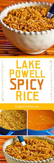 Lake Powell Spicy Rice found on KalynsKitchen.com