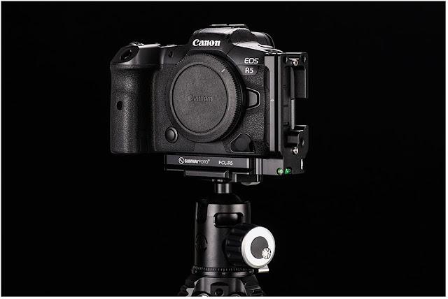 Sunwayfoto PCL-R5 on Canon EOS R5