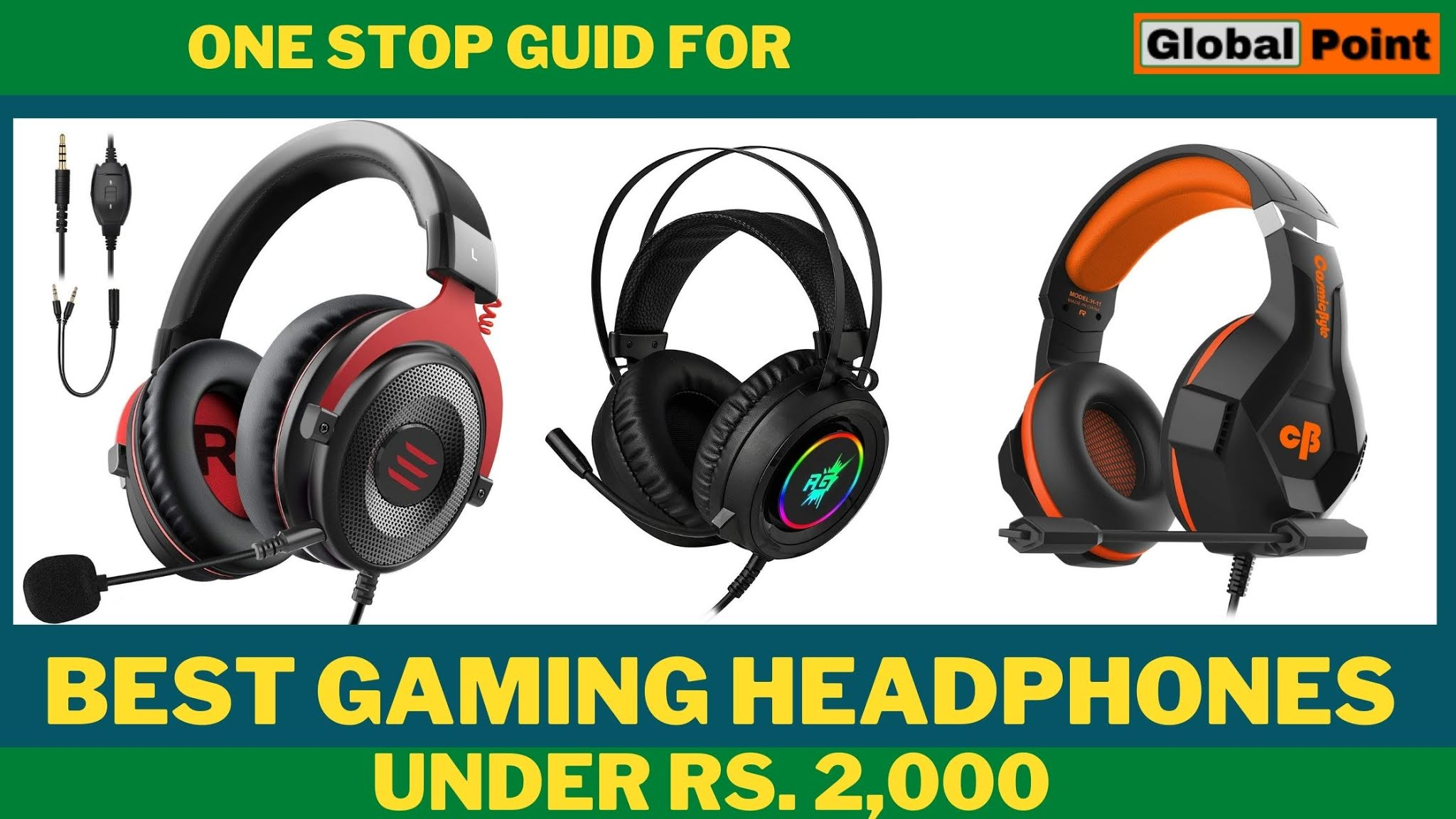 Top 5 Best Gaming Headphones Under Rs 2000