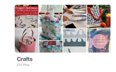 Meu painel Crafts no Pinterest