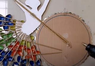 صناعة ديكور - اشغال يدوية  - مرآة راقصة الباليه لتزين المنزل