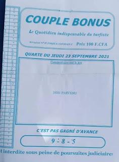 Pronostics quinté pmu jeudi Paris-Turf-100 % 23/09/2021