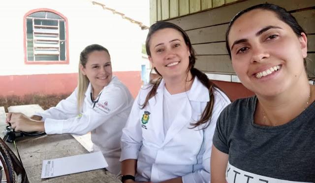 Roncador: Programa Saúde Comunidade – Ações 2020 tiveram início na comunidade Cancã de Baixo