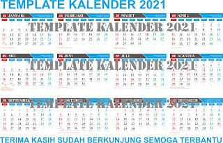 Download 44+ 24+ Template Kalender 2021 Cdr Images cdr