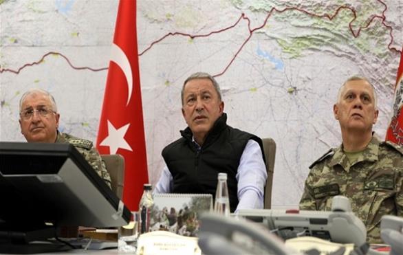 Εκτάκτως στα σύνορα με τη Συρία ο Χ. Ακάρ