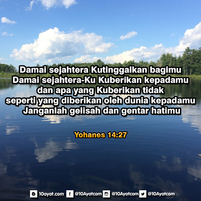 Yohanes 14:27