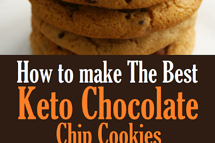 The Best Keto Chocolate Chip Cookies