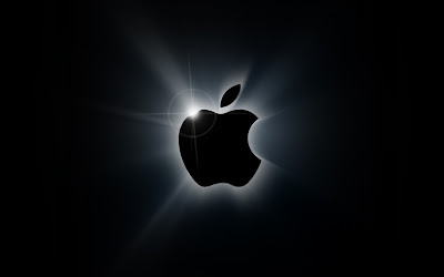 Apple Logo black background: Intelligent Computing