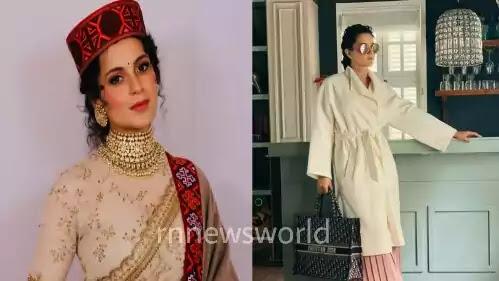Kangana Ranaut flies to Hyderabad for Thalaivi shoot