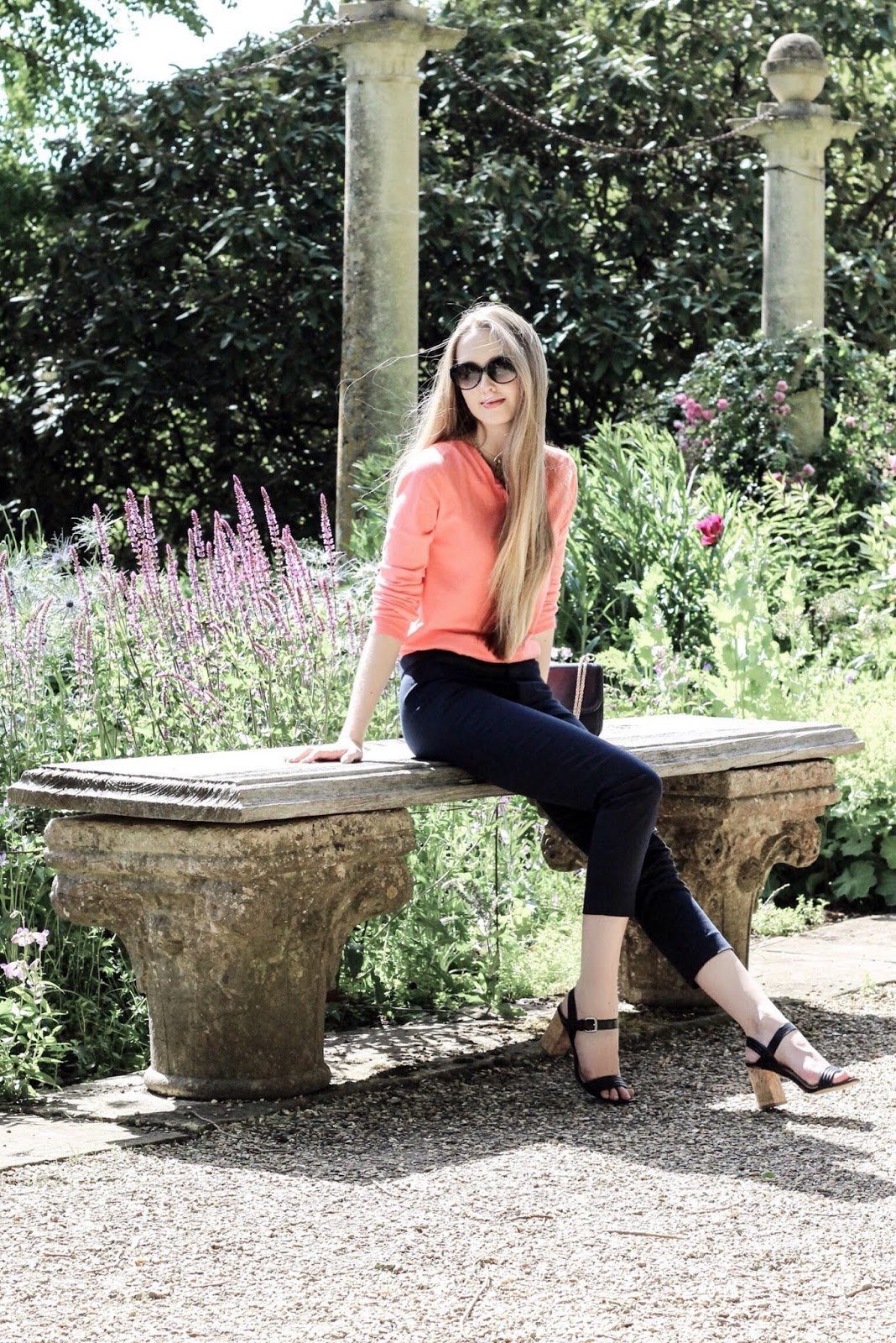 Casual smart outfit for visiting formal gardens