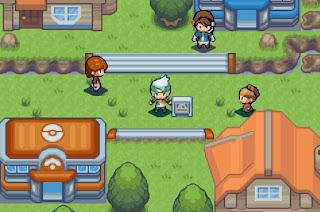 Pokemon Emerald Beautiful Remade para GBA Pueblo Escaso