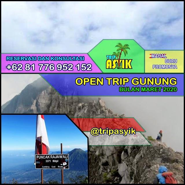Open Trip Maret 2020 - Raung, Kerinci, Latimojong, Lawu, Merbabu, Sumbing, Sindoro