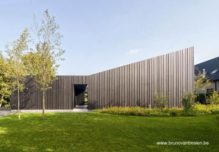 Casa residencial suburbana Minimalista en Affligem Bélgica