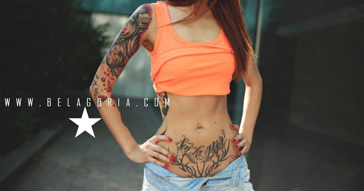 50 Tatuajes Para Tapar Estrías En La Barriga Tatuajes