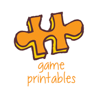 Printable Games for Kids and Adults