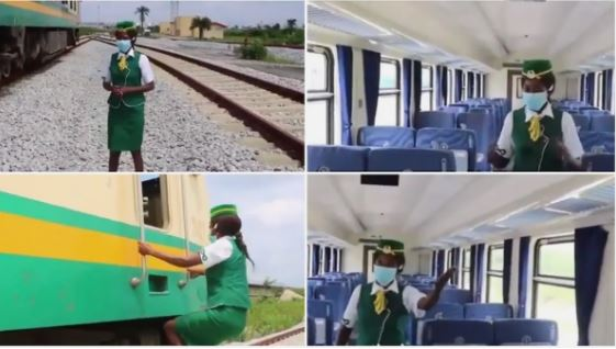 See The Lagos-Ibadan Speed Train Fitted With Movie Screens, AC And More (Photos) #Arewapublisize