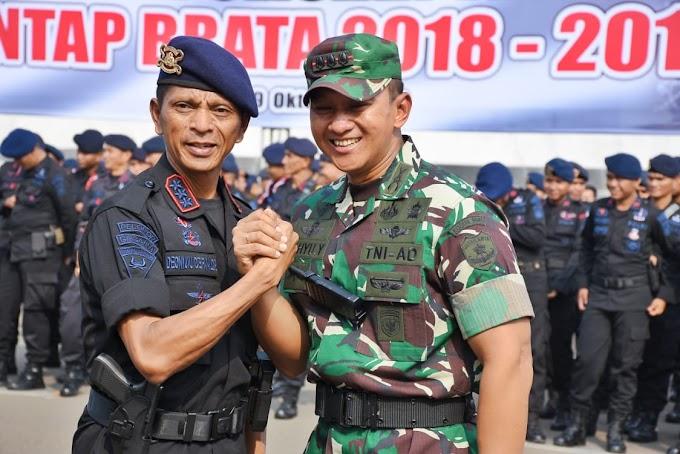 Dalam Apel Konsolidasi Operasi Kepolisian Terpusat Mantap Brata 2018 - 2019, Ini Urain Dandim 0501/JP BS