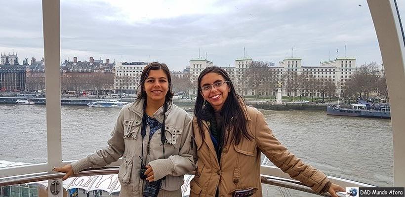 Cabine da London Eye: como visitar a roda-gigante de Londres