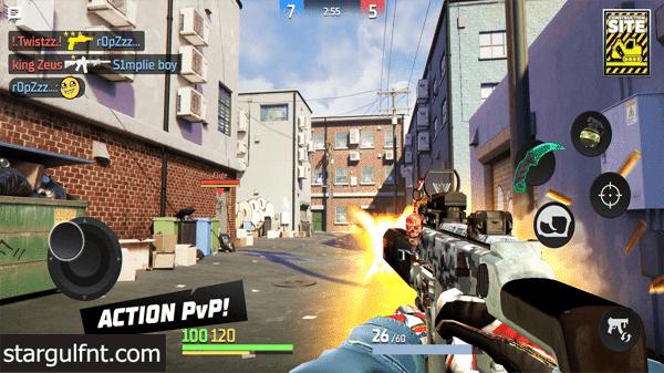 تحميل لعبة Action Strike: Online PvP  للأيفون والأندرويد XAPK