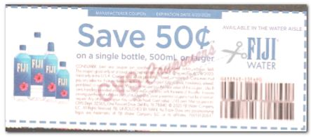 Fiji Water  coupon