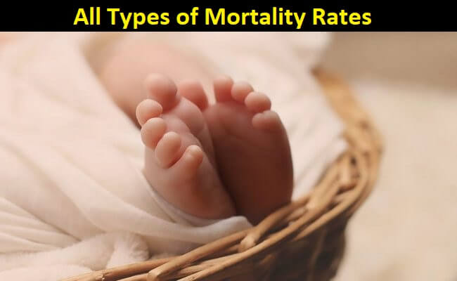 Different mortality rates