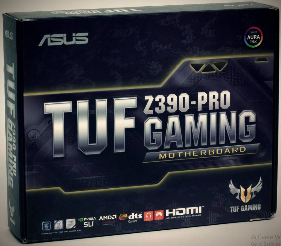 Review Asus TUF Z390-Pro Gaming motherboard based on Intel Z390 chipset