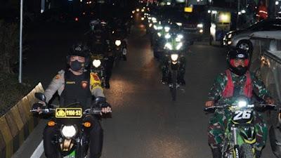 Jelang Jumat Agung, TNI/Polri Patroli Skala Besar di Toraja Utara
