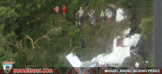 Accidente aéreo en Sardinata | Rosarienses, Villa del Rosario