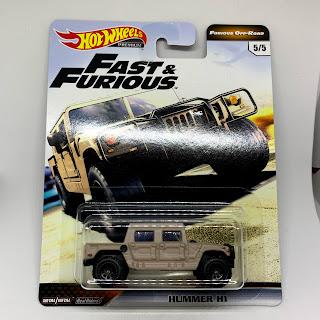 Hot Wheels 2019 Fast/&Furious Hummer H1 Real Riders !! Neu !!!
