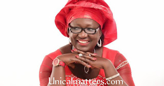 Photos of Professor Florence Banku obi, First female VC of Unical