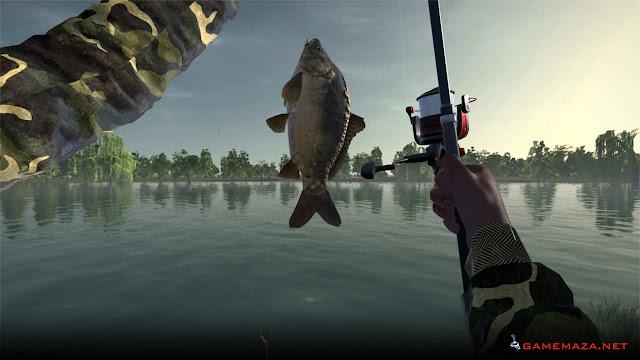 Ultimate Fishing Simulator Moraine Lake Gameplay screenshot 1