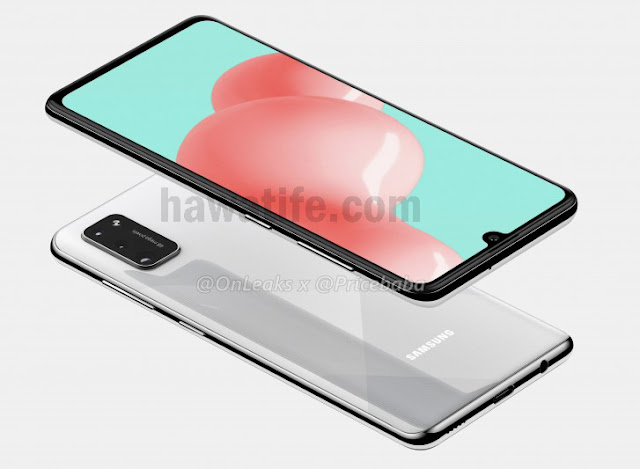 تسريب صور ومواصفات Samsung Galaxy A41