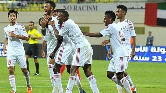 U23 UAE mất tiền đạo trước trận gặp Việt Nam