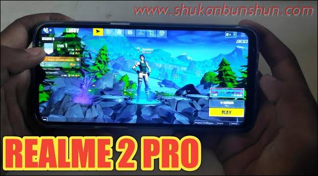 Cara Main Fortnite Mobile HP Realme