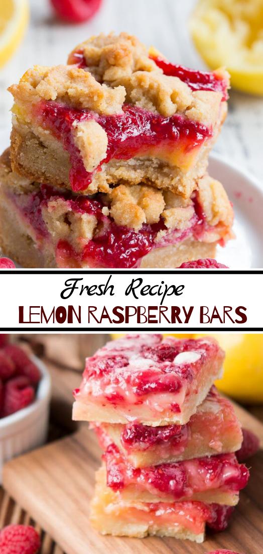 Lemon Raspberry Bars #desserts #cakerecipe #chocolate #fingerfood #easy