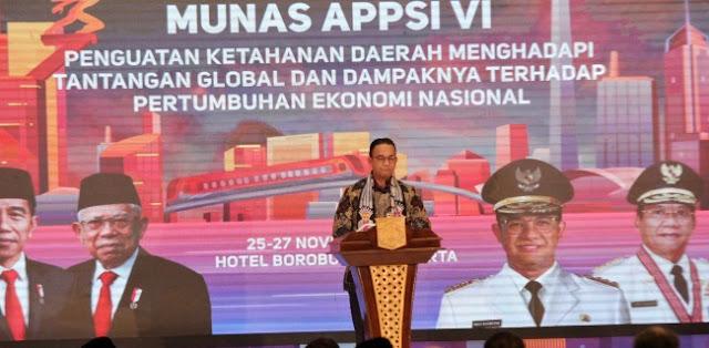 Anies Ajak Gubernur Se-Indonesia Berkolaborasi Selesaikan Masalah Nasional
