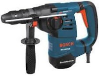 "BOSCH RH328VCQ 1-1/8"" Rotary Hammer with Quick-Change Chuck"