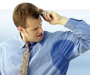 Sudoración excesiva o hiperhidrosis