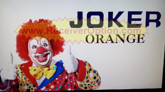 JOKER ORANGE 1506T HD RECEIVER NEW SOFTWARE