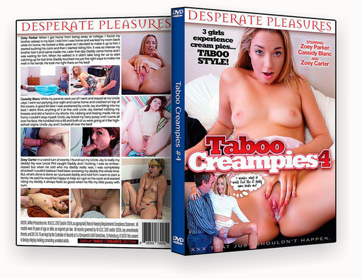 CAPA DVD – Taboo Creampies 4 xxx 2018 – ISO