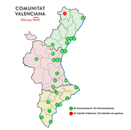 Los servicios de atención a la ciudadanía de la Generalitat atienden en octubre más de un millón y medio de consultas