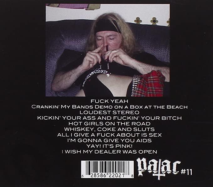 Anal Cunt Seth Putnam snorting coke off a hooker ass. #PMRC PunkMetalRap.com