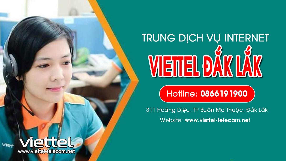 Viettel Đắk Lắk - Đơn vị lắp đặt mạng Internet và Truyền hình ViettelTV