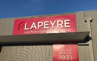 devanture du magasin Lapeyre de Melun