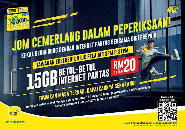 internet data digi