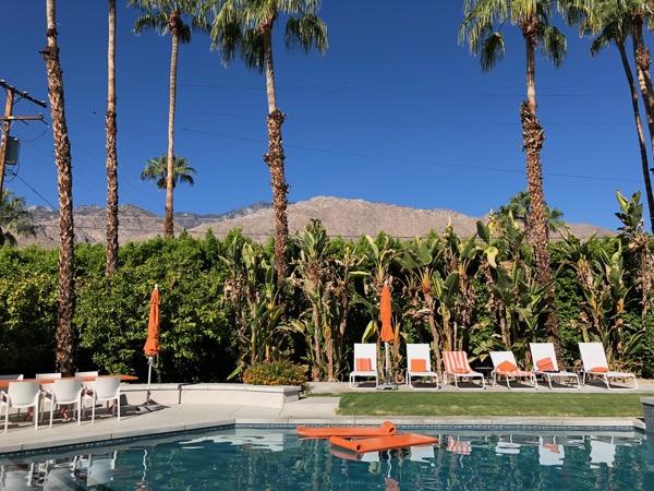 Palm Springs swimming pool